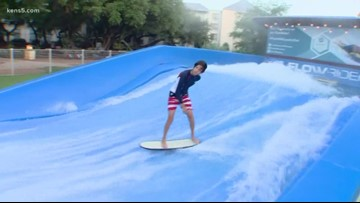 Catch a wave at Flowrider competition