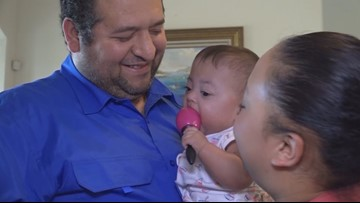 Family gets to bring baby home after a year in the ICU