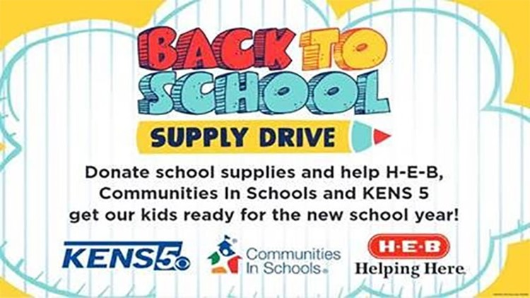 KENS CARES: Stuff the Bus with school supplies this summer to help kids succeed