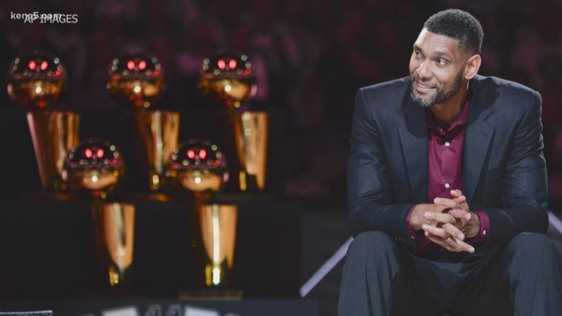 'I enjoyed my journey'   Tim Duncan reacts to Hall of Fame induction as tributes pour in