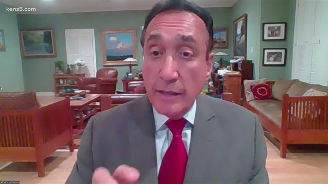 Former San Antonio Mayor Henry Cisneros breaks down election developments