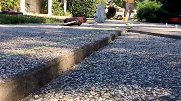 CITY PROS: Baird Foundation Repair fixes uneven concrete