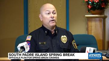 Spring Break at South Padre Island; officials announce preparations