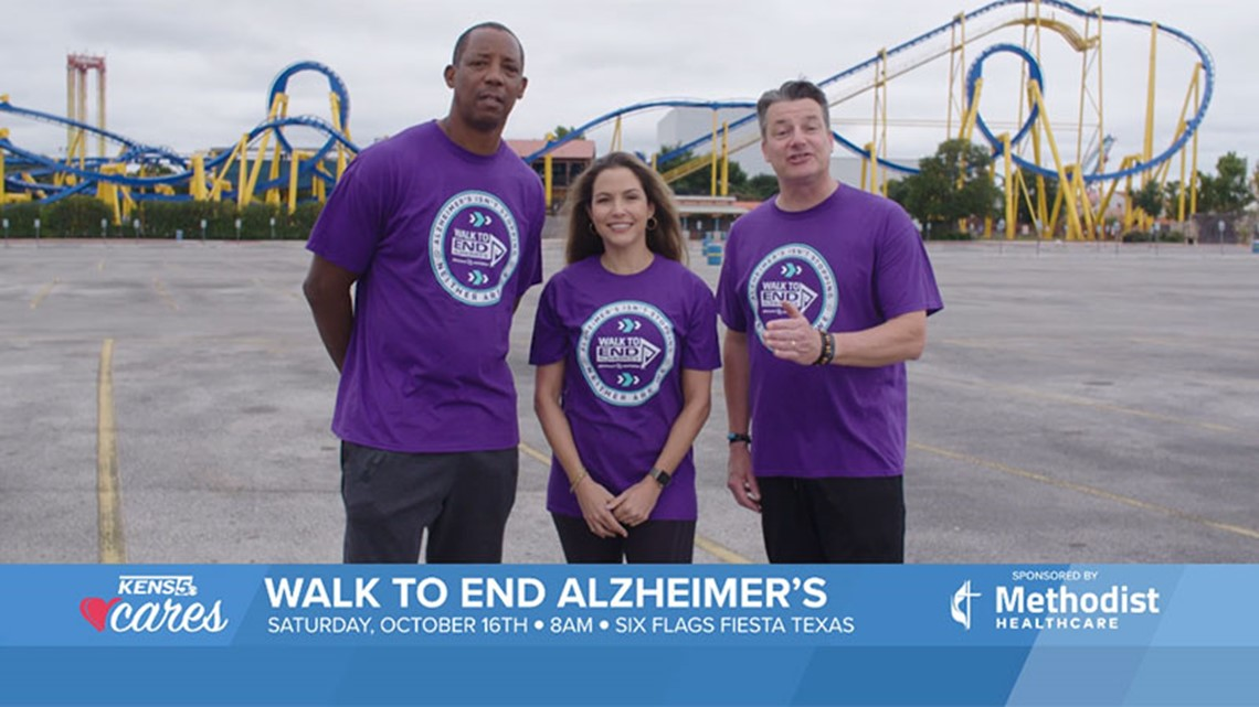 KENS CARES: Join us for the Walk to End Alzheimer's on October 16