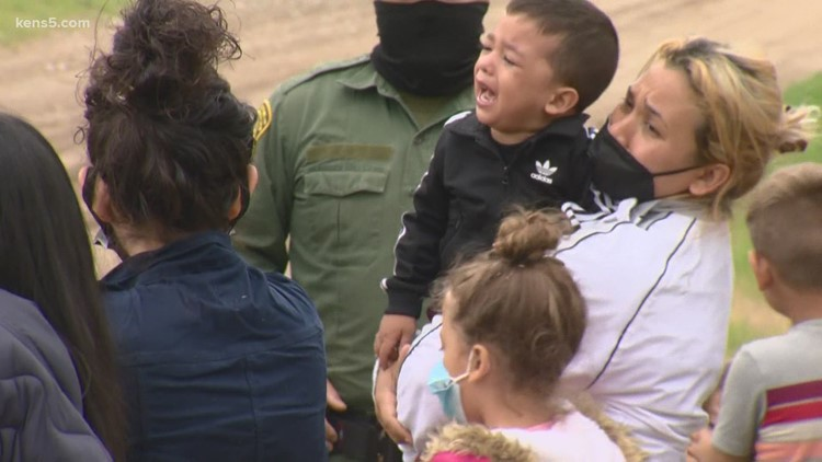 Border Patrol agents said the influx of migrants is overwhelming manpower