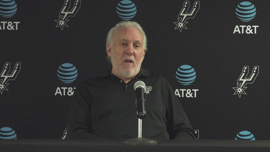 Gregg Popovich has high praise for Devin Vassell after Spurs dominate season opener