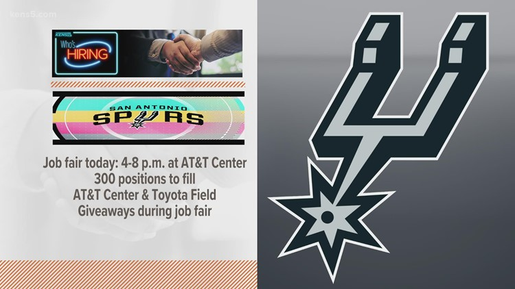 Who's Hiring? Check out this Spurs job fair for Tuesday