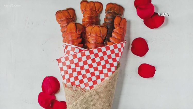 Lobster tail bouquet?! How to get one for Valentine's Day