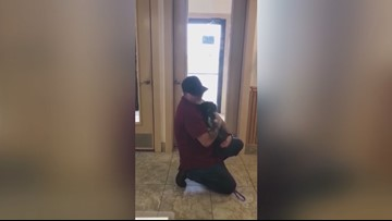 Dog missing for 5 months reunited with family