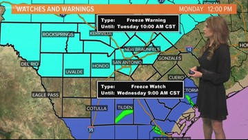 First Alert Forecast: Get ready for the freeze!