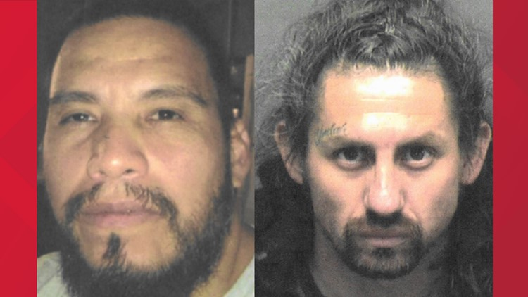Two wanted men being sought by Elmendorf Police