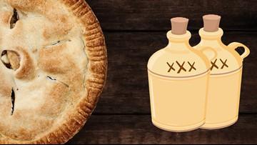 Apple Pie Moonshine in the Texas heat