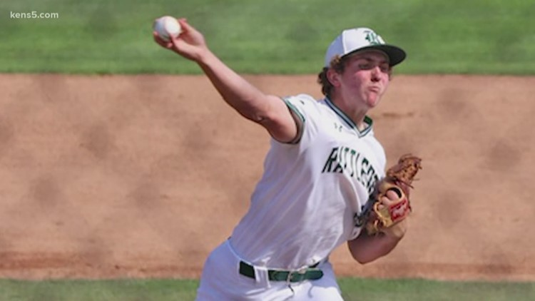 Reagan senior Travis Sthele is committed to pitch at UT, but the MLB may come calling in July