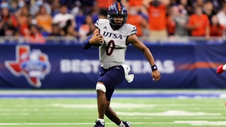 UTSA quarterback Frank Harris named Conference USA Offensive Player of the Week