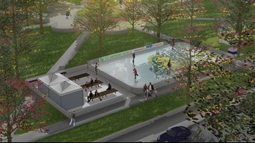 Dreaming of a winter wonderland? An ice skating rink is coming to Travis Park next month