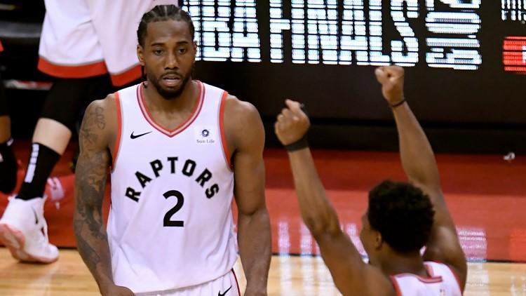 Kawhi scores 27, Raptors advance to first NBA Finals