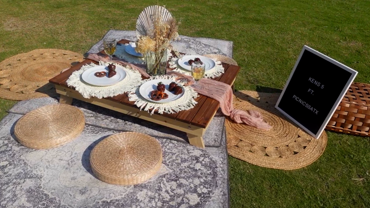 Looking to picnic in luxury? San Antonio business sets up picnics in iconic areas, or homes