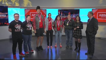 Judson High School girls' basketball team make history as state champs