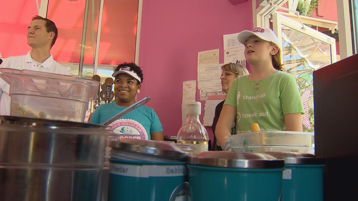Fighting sour with sweet: SATX teen creates unique cookie dough to spotlight issue of bullying