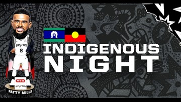 Spurs host first-ever Indigenous Night at the AT&T Center