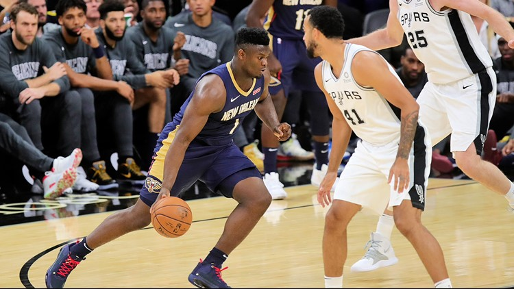 SPURS GAMEDAY: Silver & Black hope to spoil Zion Williamson's debut for the Pelicans