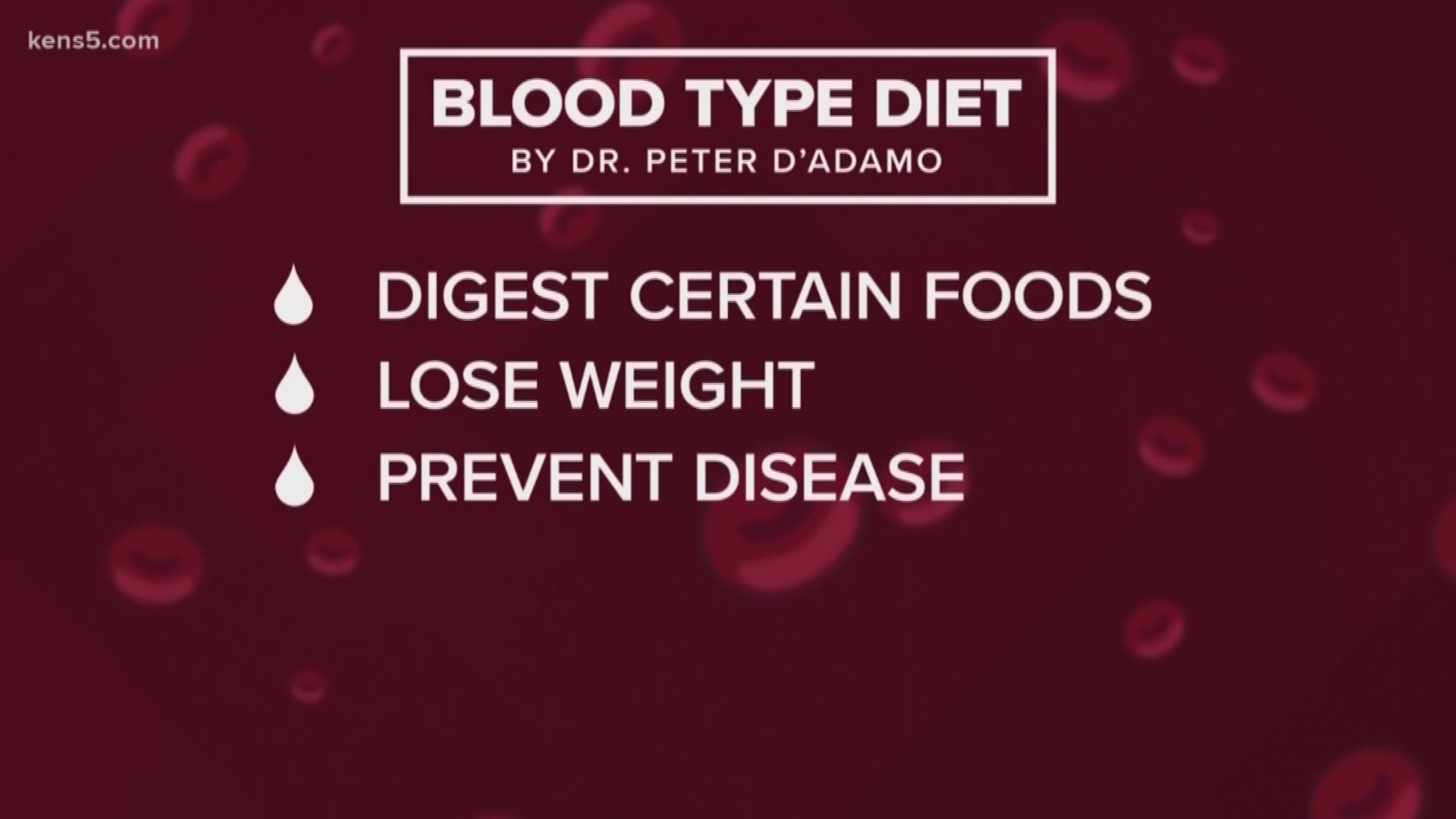 does a blood type diet work