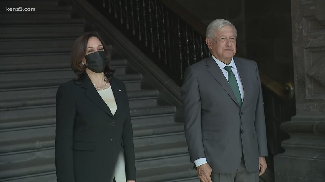 Vice President Harris visits Mexico, capping international trip addressing root causes of migration