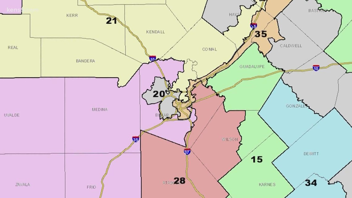 Texas lawmakers redraw congressional district maps without federal oversight