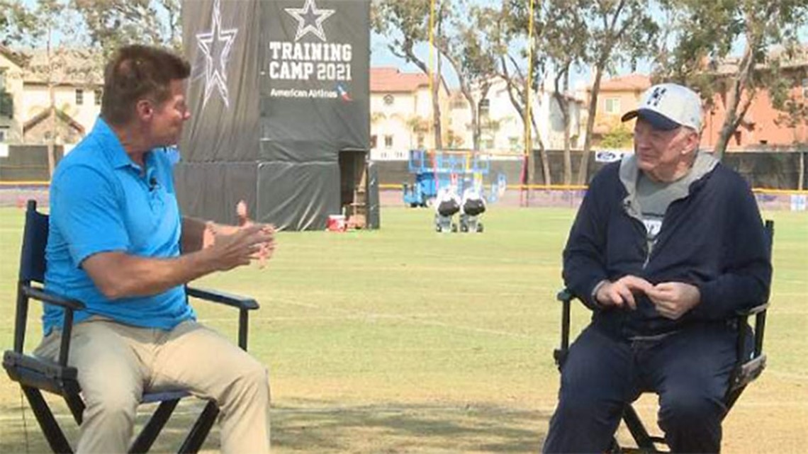 Jerry Jones speaks about coronavirus and his run with the Cowboys from training camp