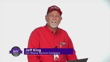 CITY PROS: Jon Wayne can answer your questions on moving from A/C to heating season