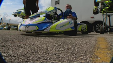 Texas Outdoors: Go Kart racing brings out the kid in all of us.