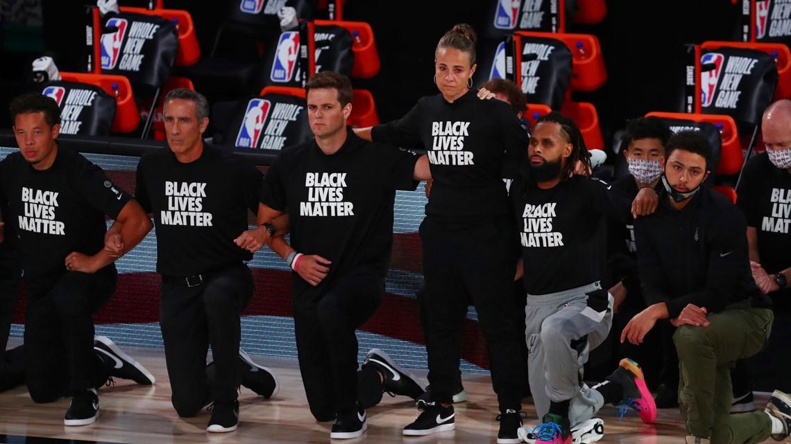 【影片】波波維奇不下跪遭球迷抨擊!DeRozan回應:不要對他污名化!-黑特籃球-NBA新聞影音圖片分享社區