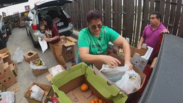 Non-profits and restaurants prepare to help San Antonio families with food this week