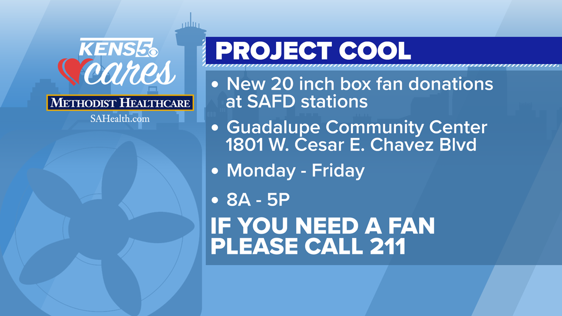 KENS CARES: Project Cool provides relief from summer heat