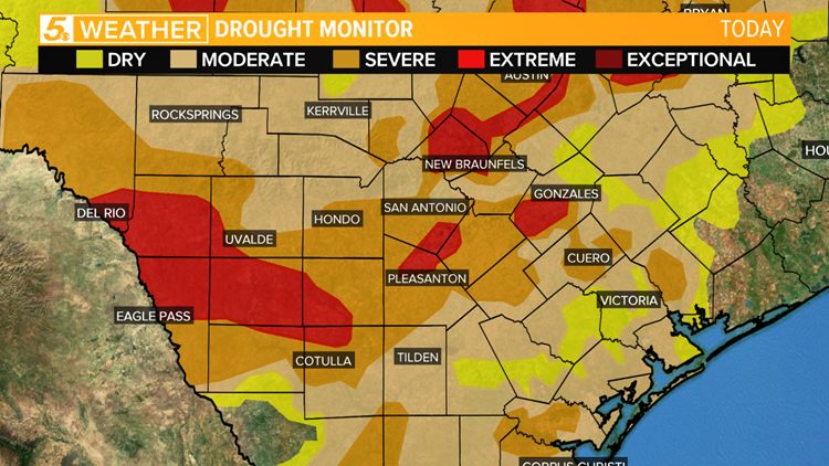 Drought conditions continue to worsen.