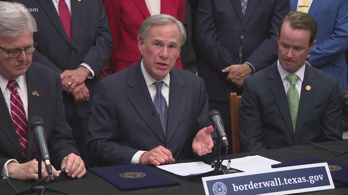 Gov. Abbott allocates $250M in funding for border wall; urges private citizens to help pay for it