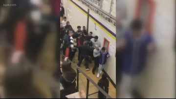 27 students 'emergency expelled' following middle school riot; 9 arrested