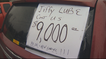 Oregon man wins $9K court ruling over disputed Jiffy Lube oil change