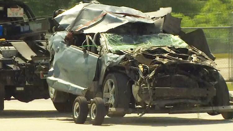 Deputies: 4-year-old girl dies after car falls off I-10 bridge