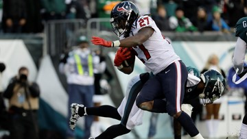 Houston Texans release running back D'Onta Foreman