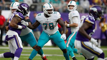 AP source: Texans get Tunsil, Stills in trade with Dolphins