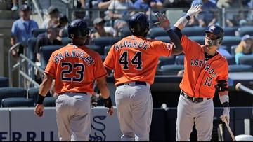 Altuve, Alvarez HR as Astros halt Yanks to end 7-game slide