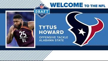 Texans address need to protect Watson by drafting tackle Tytus Howard