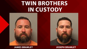 Twin brothers charged after injuring 2 deputies in suspected drunk driving crash