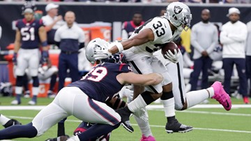 Texans' J.J. Watt tweets he's out for season after suffering injury against Raiders