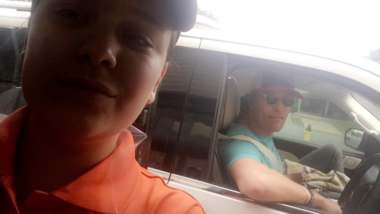 Video: Matthew McConaughey spotted in drive-thru at San Angelo Whataburger