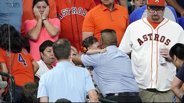 Attorney: 2-year-old hit by foul ball at Astros game suffered skull fracture, seizure