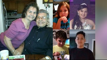 Family of 6 drowned inside van while trying to escape Harvey floods