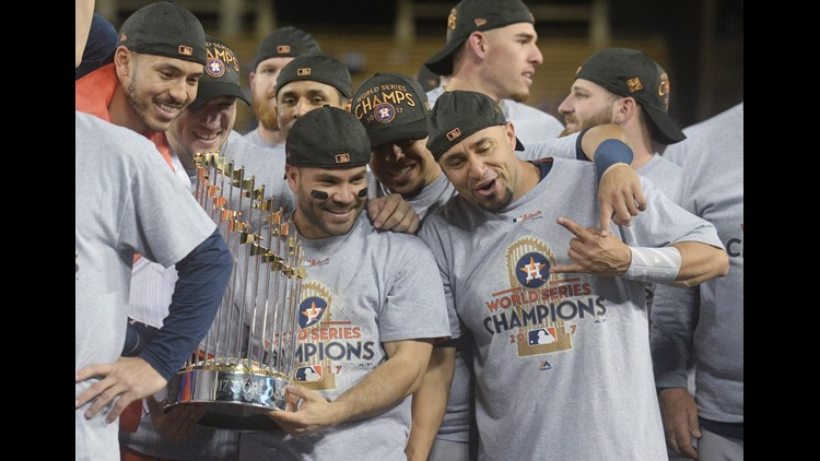 LIVE BLOG: Astros win first World Series title!
