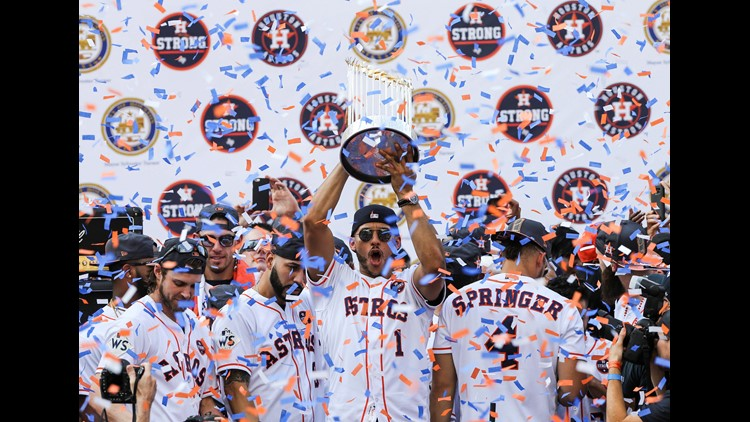 The Houston Astros have received an invitation to visit the White House as World Series Champions, according to the team's spokesperson.